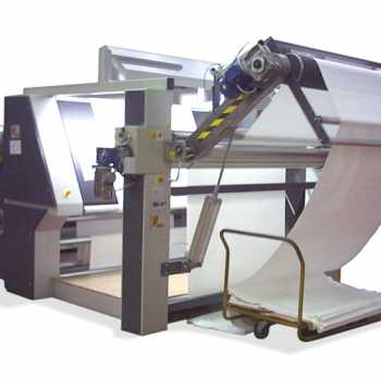 INSPECTION MACHINE AND PREPARATION TO BIG ROLLS